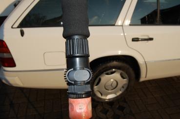 Waschbürste mit teleskop wasserdurchlauf dein händler für die